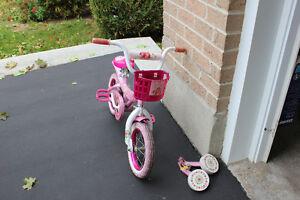 Strawberry Shortcake bike with training wheels Kingston Kingston Area image 2