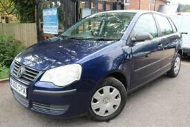 2006 Volkswagen Polo 1.2 E Blue 5 Dr FSH Long MOT Low Mileage Finance Available