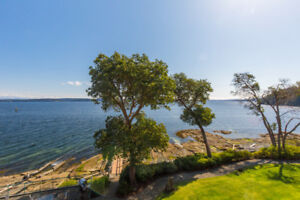 Escape Winter at our  Waterfront Condos on  Vancouver Island