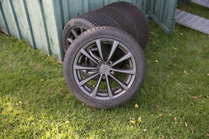 18 in rims and snow tires for infinty g37 car Kitchener / Waterloo Kitchener Area image 2