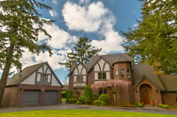 A Tudor Revival home in the heart of Edgemoor - RARE LUXURY Home