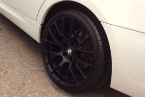 "BMW 19"" Rims with tires"