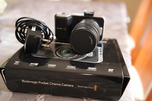 Black Magic Pocket Cinema Camera + 35mm Lens