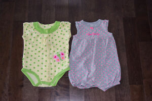 Girl's summer clothes size 12 months