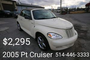 2005 Chrysler PT Cruiser Turbo convertible