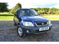 2001 Y REG HONDA CR-V 2.0 AUTO PETROL AC SUNROOF PX TO CLEAR