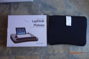 Memory Foam LapDesk for laptop ipad while working on the bed or