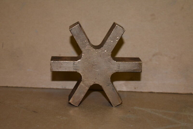 Boston Gear FCBB 38, Spider Coupling Insert, Bronze