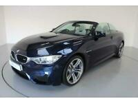 2014 64 BMW M4 3.0 M4 2D AUTO 426 BHP-TANZANITE BLUE-HEATED SILVERSTONE EXTENDED