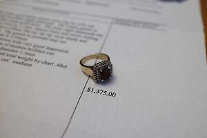 14kt Yellow Gold 48 Diamonds in RING, $1200 or Best Offer