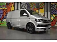 VW TRANSPORTER T6 T28 SWB 2.0TDI 160PS HIGHLINE PANEL VAN SPORTLINE PACK SILVER