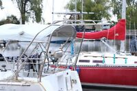 Marine Stainless Fabrication Sail Boat Arches Davits Railings