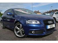 2012 Audi A3 2.0 TDI Black Edition 5dr [Start Stop] VAT QUALIFYING CAR £916...
