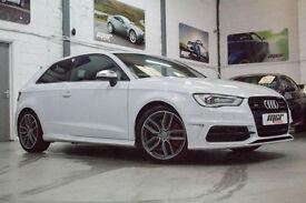 Audi S3 TFSI Quattro S Tronic, 64 Reg, 12k, Ibis White, Big Spec, 1 Owner!