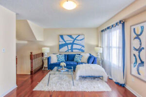 AJAX - STONEWOOD ST - GORGEOUS 3+1 BR FREEHOLD TOWNHOUSE IN AJAX