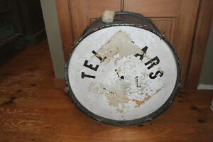 Vintage Large Drum - Great Accent Piece or Coffee Table Base