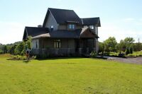 Custom Built Home with stunning view on 16.34 acres