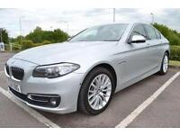 2014 14 BMW 5 SERIES 3.0 530D LUXURY 4D AUTO 255 BHP DIESEL