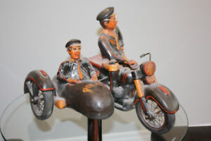 Decorative Motorcycle with sidecar