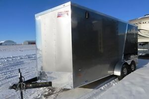 2017 7X16+6 Cargo/Enclosed Trailer Canadian Hauler - ARROW