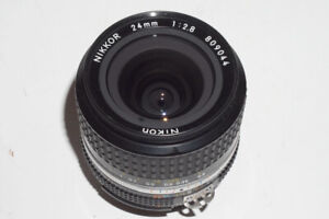 Nikkor AI-s 24mm f2.8 + adapter>>>>>More 24mm lens
