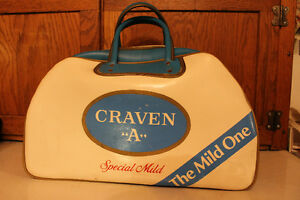 "Vintage Cigarette Advertising Bag CRAVEN A ""THE MILD ONE"""