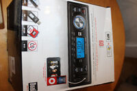 Car stereo brand new with mp3 player