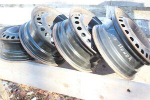 steel rims (Honda, Sunfire, Cavalier)