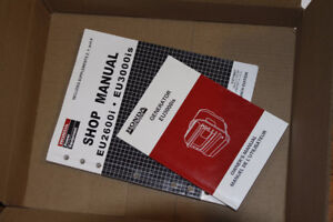 Owner's and Shop Manuals for Honda Generator