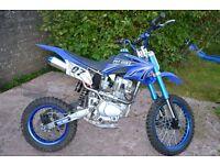 250 cc motocrosser / offroad / scrambler