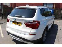 2017 17 BMW X3 2.0 XDRIVE20D XLINE 5D AUTO 188 BHP DIESEL