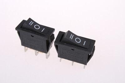 3pcs 15a 250v 16a 125vac 3-pin Spdt Onoffon 3 Position Rocker Switch