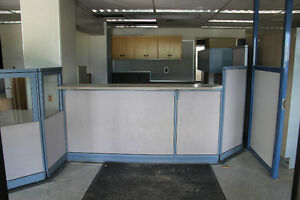 USED OFFICE PANEL/CUBICLE SYSTEM