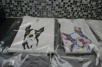 Neuf t-shirt boston terrier plusieurs modèles et personnalisé