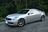 2003 Infiniti G35 Coupe 6MT Lowered on Coilers