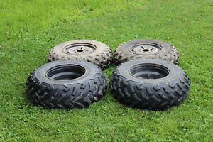 Complete set of ATV rims