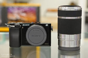 Sony 55-210mm Silver - Beautiful lens, MINT 10/10 condition