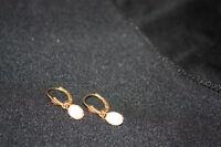 Stunning Australian White Fire Opal Earrings & Ring Set