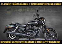 2016 16 HARLEY-DAVIDSON STREET XG 750CC 0% DEPOSIT FINANCE AVAILABLE