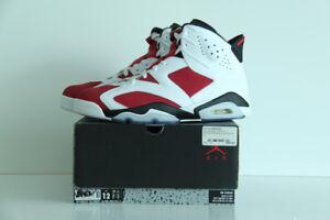 "Air Jordan 'Carmine"" Retro 6 Size 12"