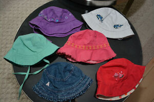Bundle of Baby Girl Hats