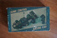 Vintage 1980's Sonic Racing Car complete with box!