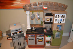 little tikes play kitchen for sale