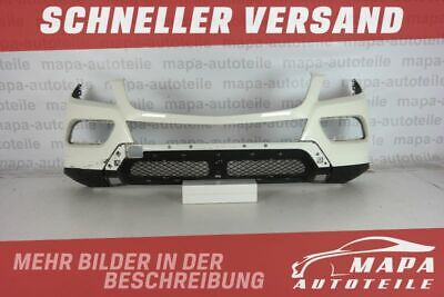 Mercedes ML W166 Bj ab 2011 Stoßstange Vorne Original (ohne Löcher) weiß Versand