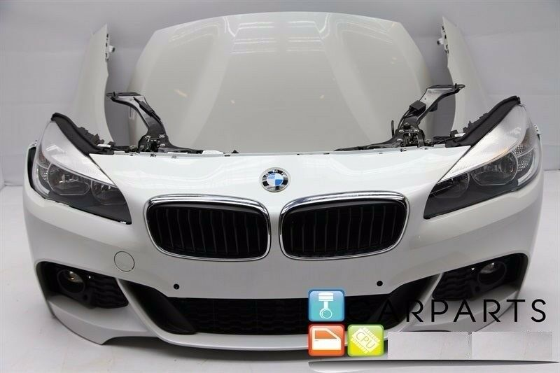OEM Front end Right hand drive BMW 2er F46 Gran Tourer 2014 F45 Headlights, bonnet, Radiator, Bumper