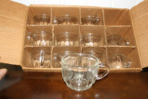 New Clear Glass Beverage Cups