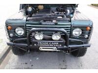 2006 06 LAND ROVER DEFENDER 2.5 110 TD5 DOUBLE CAB LWB 1D 120 BHP DIESEL