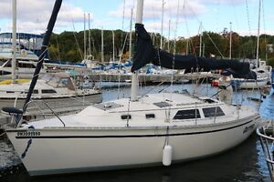 1991 Hunter 30T for sale.