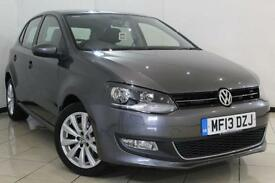 2013 13 VOLKSWAGEN POLO 1.2 SEL TSI 5DR 103 BHP