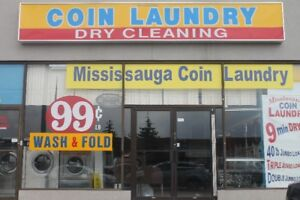 Unattended Coin Laundromat in Mississauga for Sale